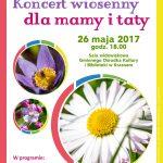 1-2017-05-26 Koncert wiosenny dla mamy i taty - plakat -01