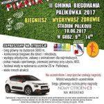 Plakat Biegomania Palikówka 2017 (Copy)