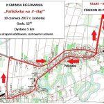 Trasa biegu głównego Palikówka 2017