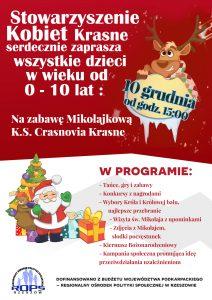 plakat mikolajkowy