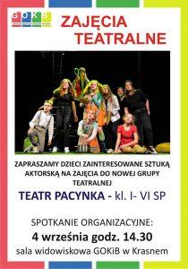 04.09. Teatr Zaproszenie na zajecia