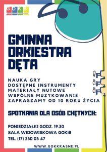 Orkiestra Dęta nabór jesień 2019