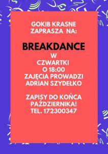 Breakdance w czwartki o 18_00 2